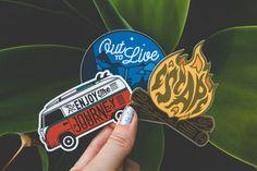 Adventure Sticker Set # 2 - Vinyl Stickers - Travelers Stickers - Adventure Decal - Wanderlust Sticker - Laptop Sticker - Hipster Decal