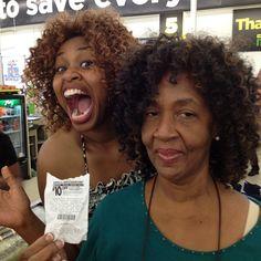 Glozell and her mom :) hahaha @Avery Hendrick and @Ashlyn Hendrick