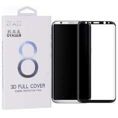 3D Full Cover Screen Protector For Samsung Galaxy S8 Plus + Premium 9H Explosion Proof Tempered Glass Protective Guard Film Capa
