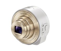Smartphone attachable lens-style camera by Sony // This digicam clips to your phone (iPhone or Android) and connects via Wi-Fi but can be detached for awkward angles and high-quality selfies.