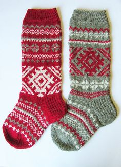 Items similar to Hand knit Christmas Stocking with folksy ornaments Personalized Christmas decoration Christmas gift on Etsy Hand knit Christmas Stocking with folksy ornaments Personalized Christmas decoration Christmas gift Gray READY TO SHIP! Knit Stockings, Knitted Christmas Stockings, Christmas Knitting, Knitting Socks, Hand Knitting, Knit Socks, Fair Isle Knitting Patterns, Knit Patterns, Personalised Christmas Decorations