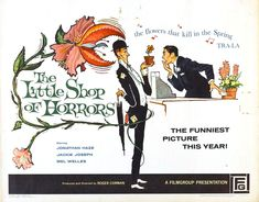 The Little Shop of Horrors (1960) — Art of the Title