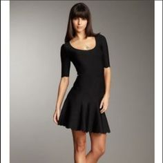 Nwot Bcbgmaxazria Black Dress
