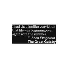 The Great Gatsby quote ❤ liked on Polyvore,  Go To www.likegossip.com to get more Gossip News!