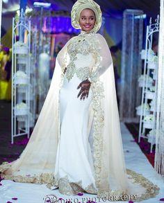 Nigerian Hausa tradition  bridal dress