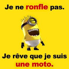les minions - Page 3 Wtf Funny, Funny Jokes, Funny Minion, French Quotes, Minions Quotes, Some Words, Funny Photos, Life Lessons, I Laughed