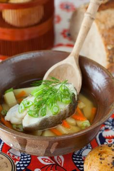 "Russian Monday: ""Ukha"" - Fish Soup Recipe: http://www.melangery.com/2014/01/russian-monday-ukha-fish-soup.html"