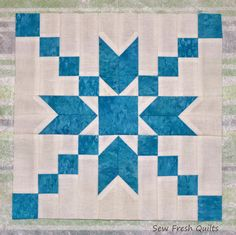 Sew Fresh Quilts: Stepping Stones Quilt Block Tutorial