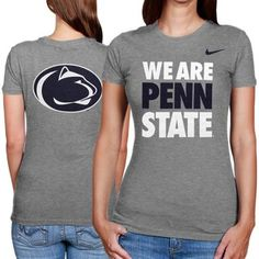 Nike Penn State Nittany Lions Ladies We Are Penn State T-Shirt - Ash