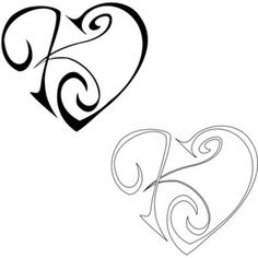 K tattoo - Google Search
