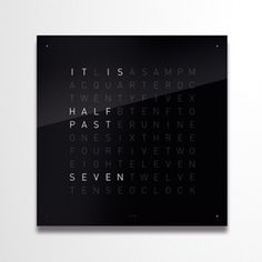 QLOCKTWO Classic Periodic Table, Classic, Derby, Periodic Table Chart, Periotic Table, Classic Books