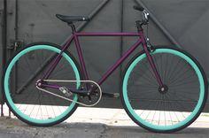 tre3e Fixi Bike, Fixed Gear Bicycle, Bike Art, Bmx Bikes, Bici Retro, Retro Bike, Bicycle Paint Job, Bicycle Painting, Bici Fixed