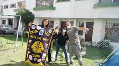 Quito Los Andes Leo Club (Ecuador)   Leos cleaned and repaired a park to provide children a place to play