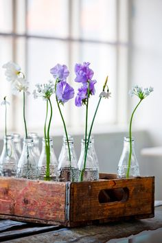 flower display. I have a similar one, as I bought Coca Cola bottles especially for this purpose