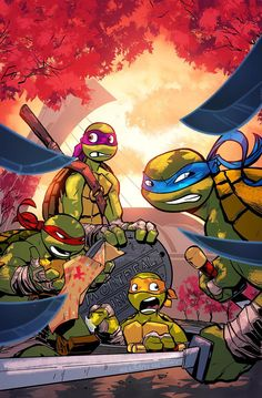 TMNT Montreal cover by a-archer.deviantart.com on @deviantART----- I just like the looks on their faces!