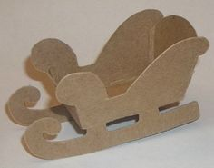 template for santa sleigh and reindeer - Google Search