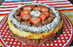 A delicious combination of chocolate and coconut. Homemade Desserts, Chocolate Cake, Enchanted, Yogurt, Cheesecake, Coconut, Recipes, Food, Chicolate Cake