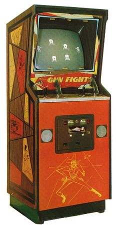 Gun Fight (Midway, 1975) Arcade Game Machines, Arcade Machine, Arcade Games, Arcade Console, Arcade Room, Modern Games, Video Game T Shirts, Retro Arcade, Game Theory