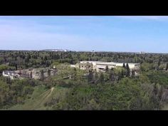 Aerial Video of Royal Alberta Museum in Edmonton