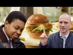 Watch 'Hot Ones' Sean Evans Grab Lunch With the Pengest Munch's Chicken Connoisieur