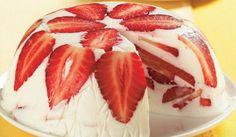 Nepečená jogurtová torta s jahodami | To je nápad!