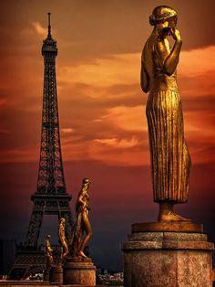 Sous le ciel de Paris.