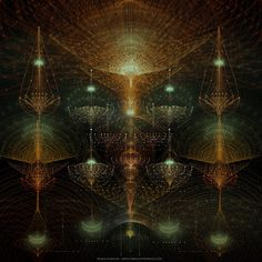 LIGHT BEYOND SOUND / Pattern www.complexitygraphics.com  by Tatiana Plakhova