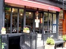 BarBossa - Brasilian in Lolita, has a table for 14 in the back.  232 Elizabeth St. New York, NY 10012 212-625-2340