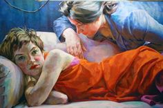 Look Left Look Right: Solo exhibition of Xenia Hausner - Macaron Magazine Artist Painting, Figure Painting, Figure Drawing, Painting & Drawing, Modern Art, Contemporary Art, Paintings Famous, Richard Diebenkorn, A Level Art