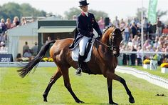 Royal Zara Phillips and her horse of choice for the Olympics, High Kingdom