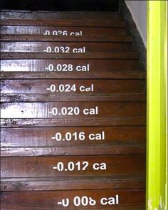 Weight watchers staircase