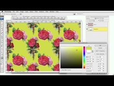how to make seamless patterns/wallpaper in photoshop