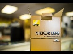 Today I got my hands on the NEW Nikon AFS Lens with Nano coating. This was a surprise announcement from Nikon a few months back and I have to say its New Nikon, Edit Your Photos, F 1, Photo Online, Love Photography, Cool Photos, Lens, Photo And Video