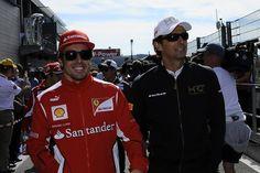 Fernando y Pedro... los veremos mucho juntos... Españolizando Ferrari.