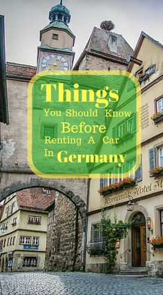 blog travel tips driving germany