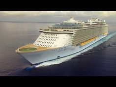 """""""Mighty Ships - Oasis of the Seas"""" - Pack your bags for a summer escape on the maiden voyage of the largest cruise ship ever built. Oasis of the Seas is five times bigger than the Titanic! Royal Caribbean Oasis, Royal Caribbean International, Cruise Europe, Alaska Cruise, Bahamas Cruise, Cruise Vacation, Movies To Watch Now, Celebrity Cruises, Family Cruise"""