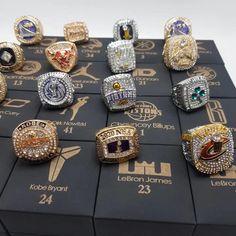 Basketball Quotes, Nba Basketball, Logo Jordan, Jewelry Shop, Diy Jewelry, Nba Rings, Championship Rings, Print Box, Boyfriend Anniversary Gifts