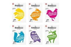 Raselli Tea Blends on Packaging of the World - Creative Package Design Gallery
