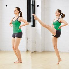 The Rockettes Long, Lean Legs Workout this seems like a fun workout for when you nee