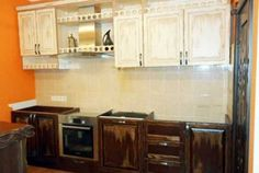 Кухня из массива сосны «Уют» модель №472 Kitchen Cabinets, Diy, Home Decor, Decoration Home, Bricolage, Room Decor, Cabinets, Do It Yourself, Home Interior Design