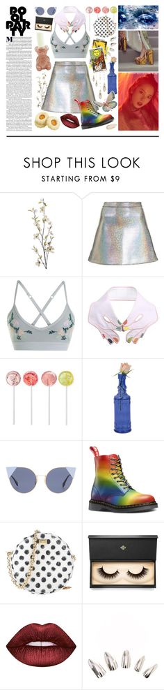 """""""kitsch kitsch bish"""" by enterthev0id ❤ liked on Polyvore featuring Pier 1 Imports, Topshop, Lorna Jane, VIVETTA, Fendi, Dolce&Gabbana, Lash Star Beauty, Lime Crime, Charlotte Russe and Cyrus"""