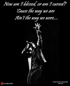 When we were beautiful - Bon Jovi ♥