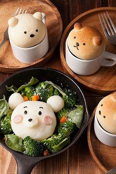 ! (! Yapurogu) yaplog byGMO   :: happy rainbow ★ breakfast bear #cute #food