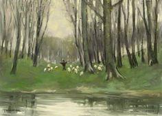 Spring landscape Spring Landscape, Painting, Art, Art Background, Painting Art, Kunst, Paintings, Performing Arts, Painted Canvas