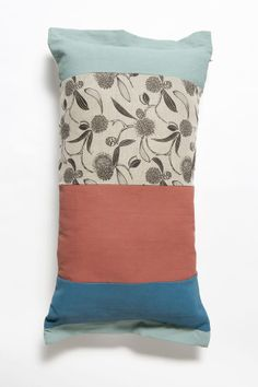 Long cushions add dimensional interest to any living space.  100% feather insert digitally printed/screen printed 100% Linen invisible side zip