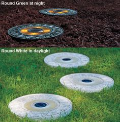 Solar LED Stepping Stones