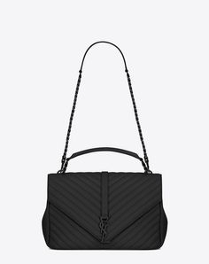 Downtown baby cabas in smooth and crocodile embossed leather. Sac Saint  LaurentSaint Laurent College BagYsl ... a541eb26a8a3d