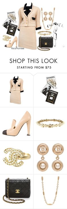 """""""Chanel"""" by florymcintee ❤ liked on Polyvore featuring Assouline Publishing and Chanel"""