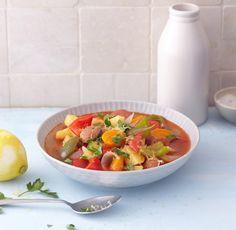Rezept für Chorizo-Möhren-Eintopf bei Essen und Trinken. Und weitere Rezepte in den Kategorien Gemüse, Kartoffeln, Kräuter, Obst, Schwein, Hauptspeise, Suppen / Eintöpfe, Braten, Kochen, Schmoren, Einfach, Gut vorzubereiten, Schnell.