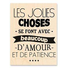Beaucoup d'amour et de patience :)